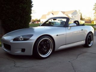 18 Rota D2 Black Rims Wheels Tires Honda S2000 S2K Staggered Hankook