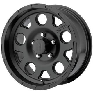 18 inch KMC XD Enduro Black Wheels Rims 5x5 5x127 18x9