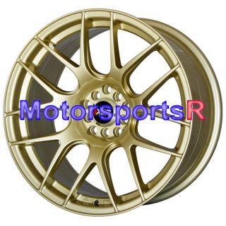XXR 530 Gold Wheels Rims Concave 5x100 5x4 5 04 13 Subaru WRX STI BRZ