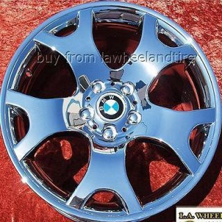 SET OF 4 NEW 19 BMW X5 E53 SPORT FACTORY OEM CHROME WHEELS RIMS X3 E83