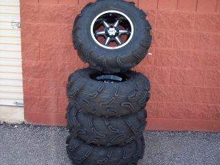 Yamaha Rhino Zilla Wide Kit ATV Tire 14 B6 Wheel Kit Complete