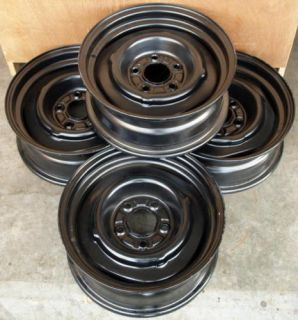 Chevy GM 15 x 6 Steel Wheels Rat Rod 4 3 4 Pattern