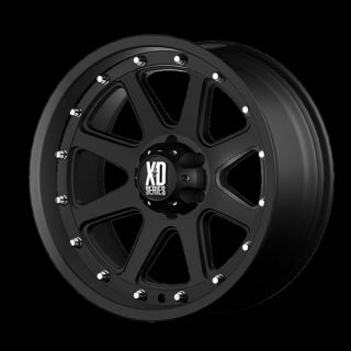 Addic XD Series Black Offroad 17x9 0 ruck Wheels Rims Se