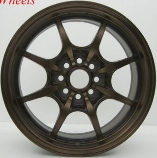 Rota Circuit 8 15x6 5 4x100 Sport Bronze Wheels Rims