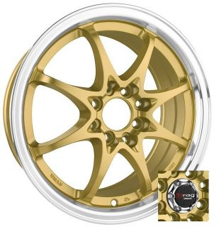15 Drag DR9 4 Lug Wheel Rims Acura Integra CL TL Legend