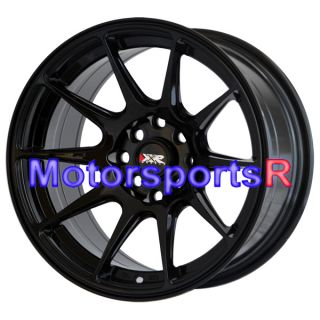 16 16x8 25 XXR 527 Gloss Black Wheels Rims Concave 85 87 Toyota