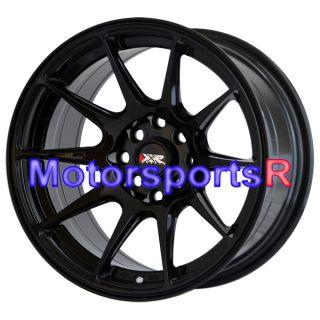 16 16x8 25 XXR 527 Gloss Black Wheels Rims Concave 85 87 Toyota