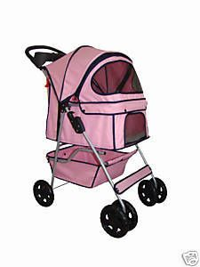 BestPet 4 Wheels Pet Dog Cat Stroller 14 Color Choices