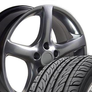 17 Rims Fit Nissan Altima 05 Wheels Black Set