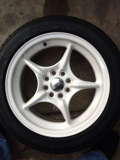 JDM Mugen Weapon RNRs 15 Wheels Rims EG6 CRX EF9