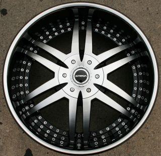 Strada Denaro 122 22 Black Rims Wheels Tacoma Tundra 6H 22 x 9 5 6H