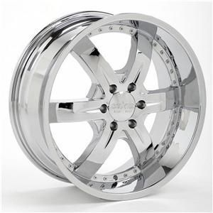 24inch R2R 8 Lug Rims Wheels Tires Package Starr 781