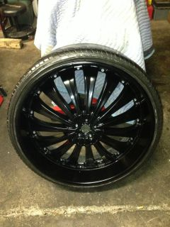 Tis 26 Wheels and Tires Rims Tis 26 Black Lexani Wheels