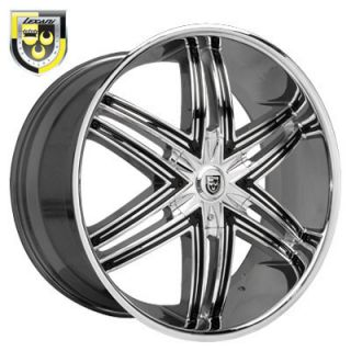 28 Lexani Wheels Advocate Rim Tire Escalade GMC 24 26
