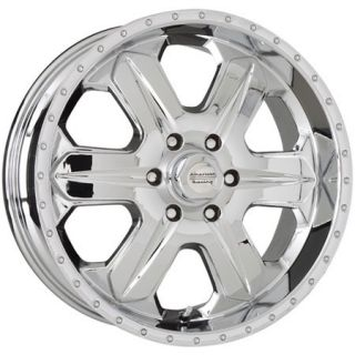 17 inch Chrome Wheels Rims Ford F150 Expedition Truck American Racing