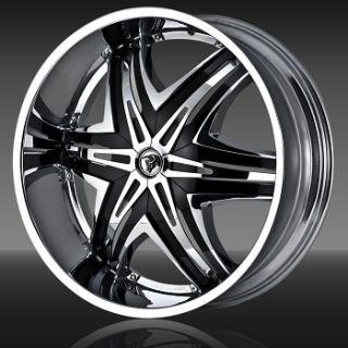 Wheels Elite Rims Tire Avalanche Silverado GMC Navigator Dodge RAM 26