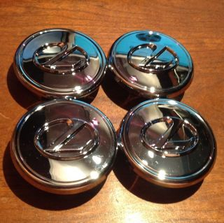 GS400 GS430 Chrome Wheel Center Cap Rim 74147 Alloy Wheel Set Of 4