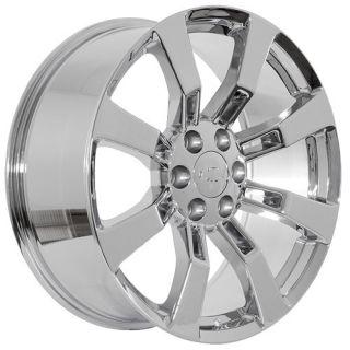 Truck SUV Silverado Tahoe Avalanche Suburban Chrome Wheels Rims