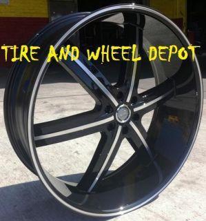 26 inch U255B Rims Tires Tahoe Escalade Yukon Denali