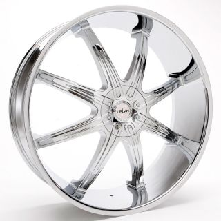 26 inch MS48 Rims and Tires Charger Magnum Chrysler 300 Regal Nova