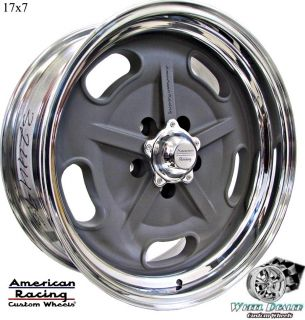 AMERICAN RACING SALT FLAT WHEELS RIMS IN STOCK FOR FORD MUSTANG 1965
