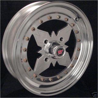Holeshot Aluminum Front Drag Wheel 4 Lug Race 15 x 4