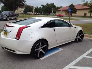 20inch Vossen Wheels and Nitto Tires Fit Caddilac cts Coupe