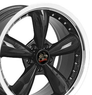 20 Rim Fits Mustang® Bullitt Wheel 05 Black 20x8 5