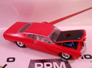 HOTWHEELS 100% LIMITED EDITION 1971 FORD TORINO REAL RIDER MUSCLE CAR