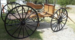 buckboard wagon wood wheels stage coach horse drawn concord stagecoach