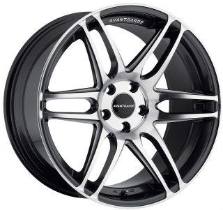 19 Avant Garde M368 Wheels For Audi A4 A6 A8 Set of Four Rims & Caps
