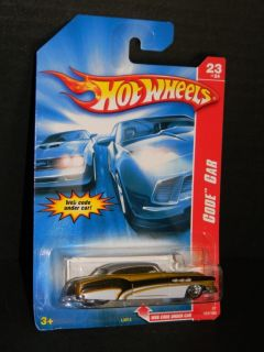 2007 Hot Wheels Code Car 23 of 24 So Fine Collector 107 Gold MOC