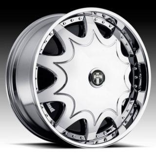 26 Dub Stashola Spinner Chrome Wheel Set