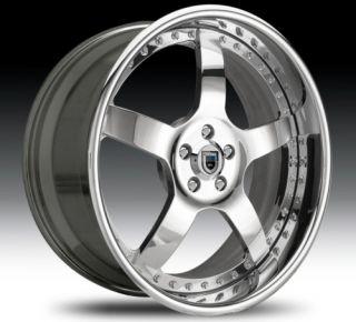 32 asanti AF112 Chrome Wheels Rims 3 Piece