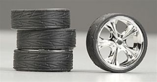 Hoppin Hydros 1 24 1 25 Monster 24S Wheels Rims Tires Tiki Model Car