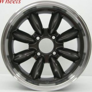 15x7 Rota RB Wheels 4x114 3 Rim 25mm Datsun 510