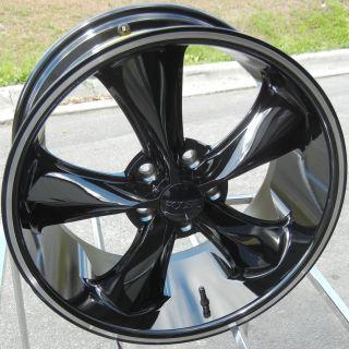 18 Black FOOSE Legend SS Wheels Rims Mustang Explorer Fusion Edge
