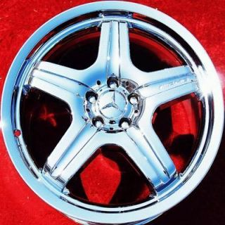 NEW MERCEDES BENZ ML63 AMG 20 OEM CHROME WHEELS RIMS 65428 EXCHANGE
