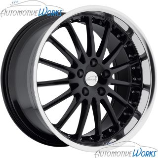 Whitley 5x120 65 5x4 75 25mm Gloss Black Mirror Rims Wheels 17