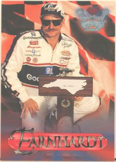 Dale Earnhardt 1996 Wheels NASCAR Crown Jewels 27