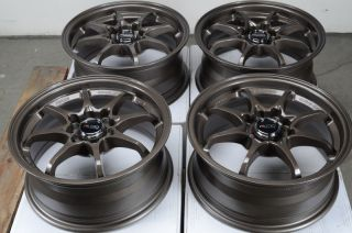 15 4x114 3 4x100 Bronze Rims Light Weight Scion Xa Xb Accord Jetta 4