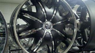 24 Dub Doggy Style Wheels Tires Lexani Tis FOOSE 28