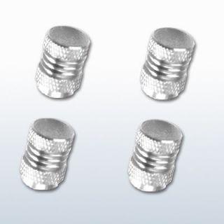 Chrome Universal Aluminum Rims Tire Air Valve Stem Caps