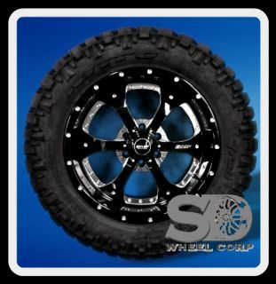 NOVAKANE DEATH METAL RIMS 305 55 20 NITTO TRAIL GRAPPLER WHEELS TIRES