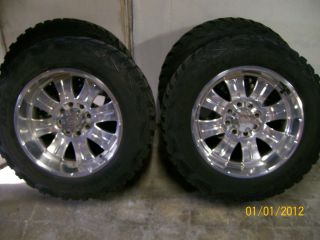 SUPERDUTY F250 F350 22 AMERICAN RACING FORGED RIMS 37 KUMHO TIRES