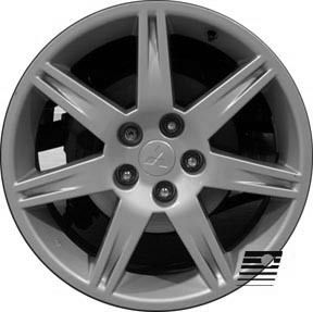 Refinished Mitsubishi Eclipse 2006 2008 18 inch Wheel