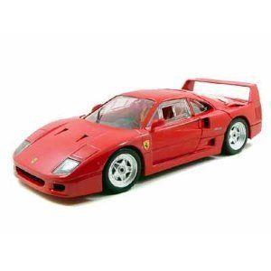 Hot Wheels Ferrari F40 Die Cast 1 18 Red F 40