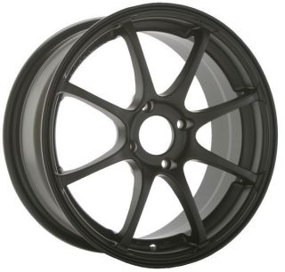 15 Konig Feather 15x6 5 4x100 38 Full Gloss Black Wheels Rims