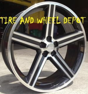 22 INCH BLACK IROC RIMS AND TIRES CUTLASS SKYLARK CHEVELLE IMPALA