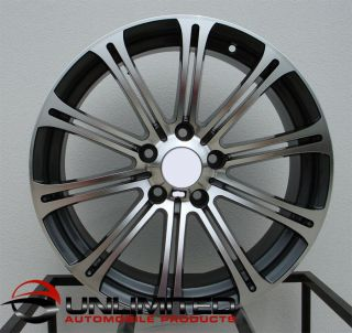 18 M3 Style Staggered Wheels Fit BMW E39 525i 528i 530i 540i M5 (1995